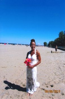 Wedding alterations in Rochester NY by seamstress Nadia