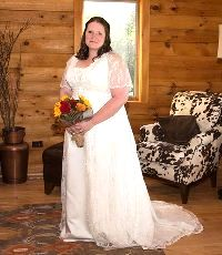 Wedding dress alterations in Rochester NY by seamstress, dressmaker Nadia